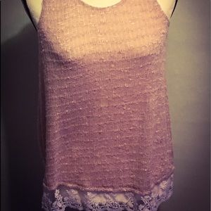 💫 3 for $15 Lacy Knit tank